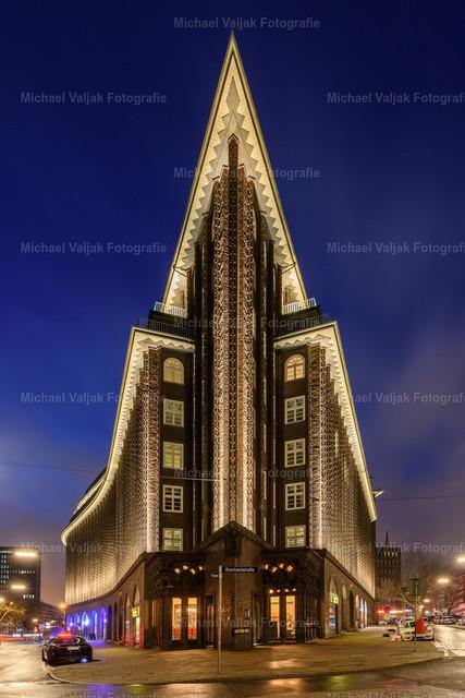 Chilehaus Hamburg | Das zehnstöckige Kontorhaus gehört zu den historischen Baudenkmälern Hamburgs.
