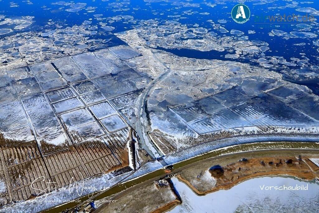 Winter Luftbilder, Nordsee, Nordfriesland, Siemonsberg, Everschopsiel | Winter Luftbilder, Nordsee, Nordfriesland, Siemonsberg, Everschopsiel