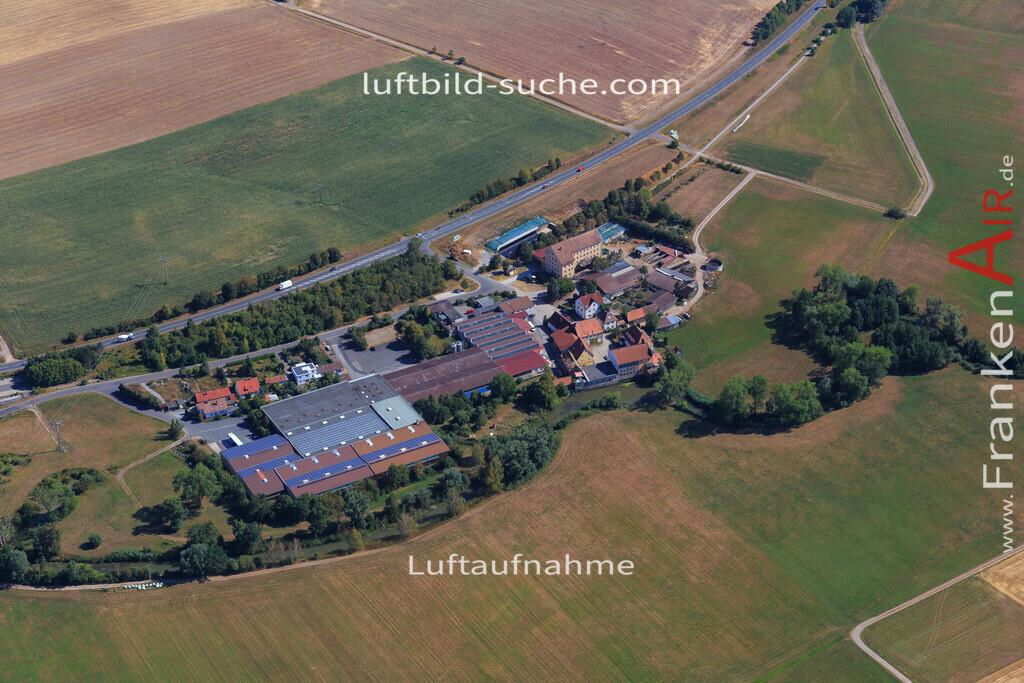 muechsteinach-2015-2231 | Luftbild von  Muechsteinach - Luftaufnahme wurde 2015 von https://frankenair.de mittels Flugzeug (keine Drohne) erstellt - die Geschenkidee