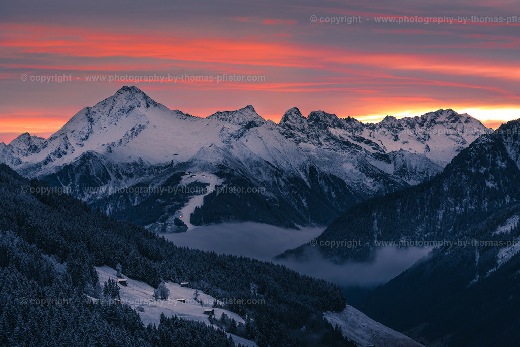 Ahornspitze am frühen Morgen Sonnenaufgang-2