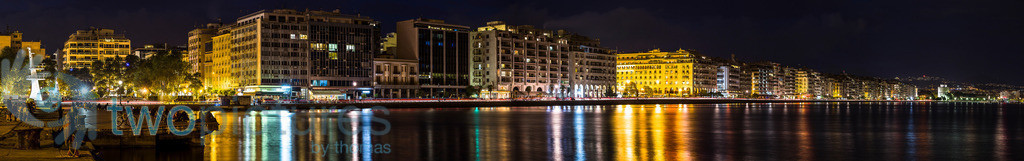 Panorama der Promenade in Thessaloniki | Thessaloniki