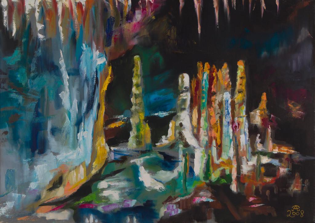 Grotta die Frasassi - Saal des Schatzes | Originalformat: 60x80cm  -   Produktionsjahr: 2008