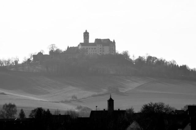 blick vom herrnhaag - ronneburg