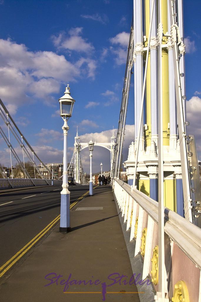 Auf der Prince Albert Bridge | Prince Albert Bridge
