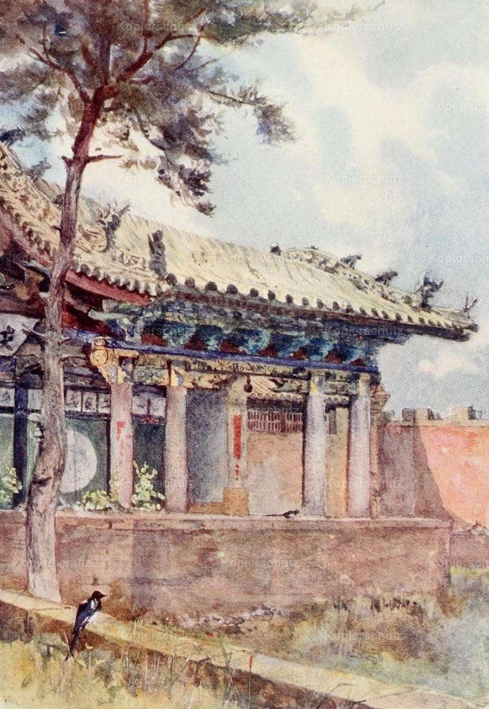 Kemp_ Emily G. (1860-1939) - Face of China 1909 - Theatre stage