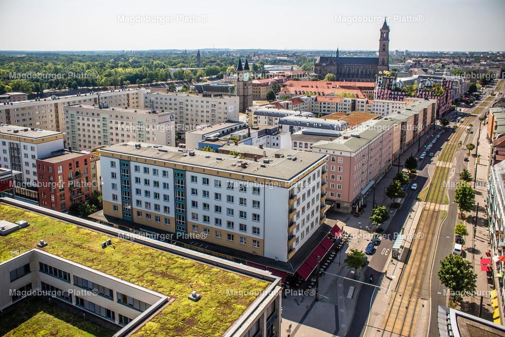 Luftbild Magdeburg City McDonald HDL Damaschke-8437