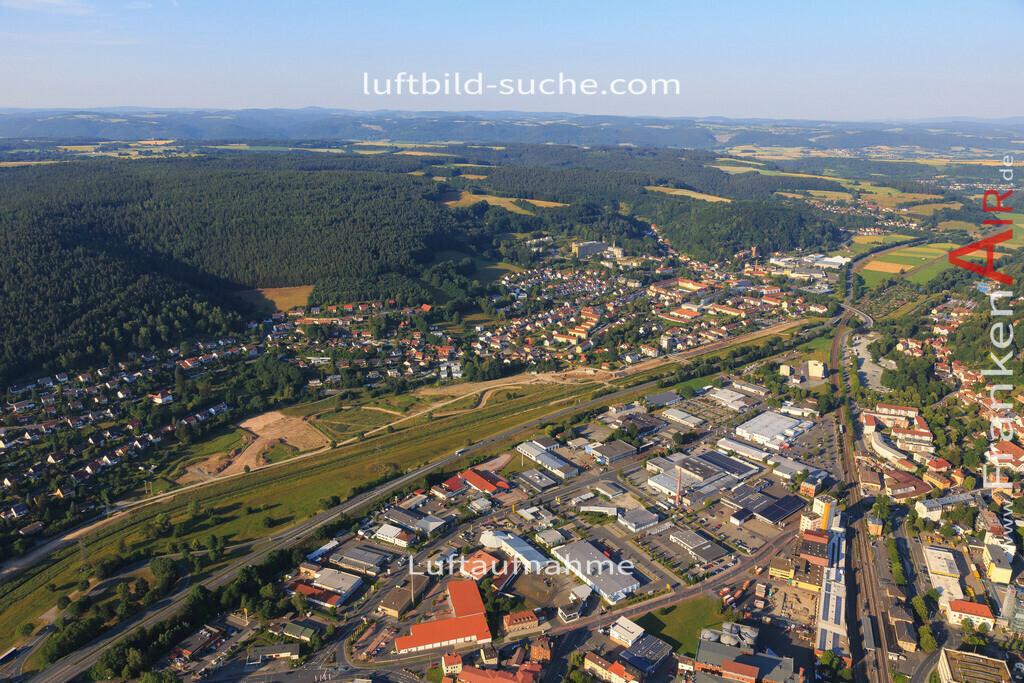 kulmbach-2015-1793 | Luftbild von  Kulmbach - Luftaufnahme wurde 2015 von https://frankenair.de mittels Flugzeug (keine Drohne) erstellt - die Geschenkidee