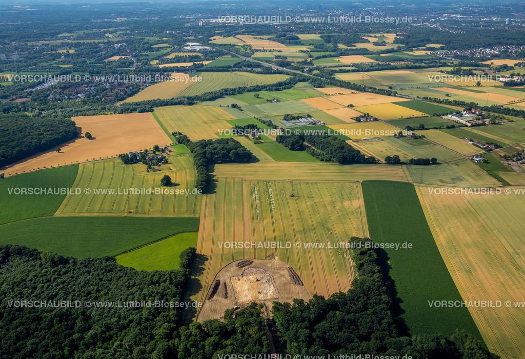 Luenen15071929 | Bauarbeiten auf einem Feld Nahe Gahmen, Lünen, Ruhrgebiet, Nordrhein-Westfalen, Deutschland