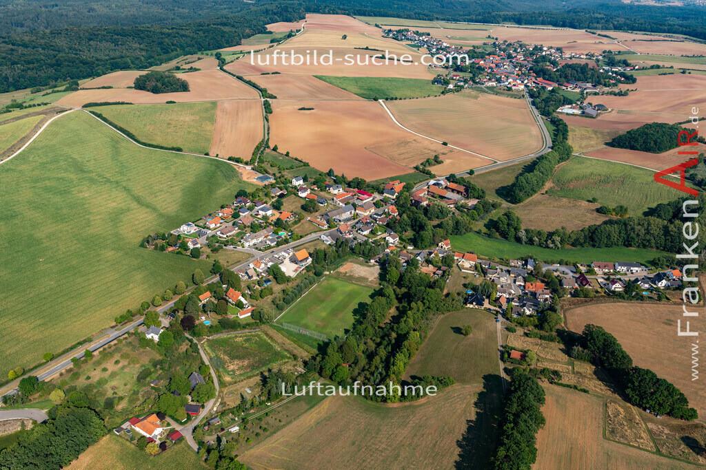 obersiemau-19-698 | aktuelles Luftbild von Obersiemau   - Luftaufnahme wurde 2019 von https://frankenair.de mittels Flugzeug (keine Drohne) erstellt.