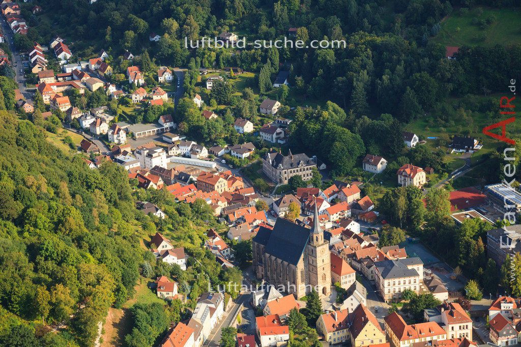 kirche-kulmbach-2012-2246 | Luftbild von Kirche Kulmbach - Luftaufnahme wurde 2012 von https://frankenair.de mittels Flugzeug (keine Drohne) erstellt - die Geschenkidee