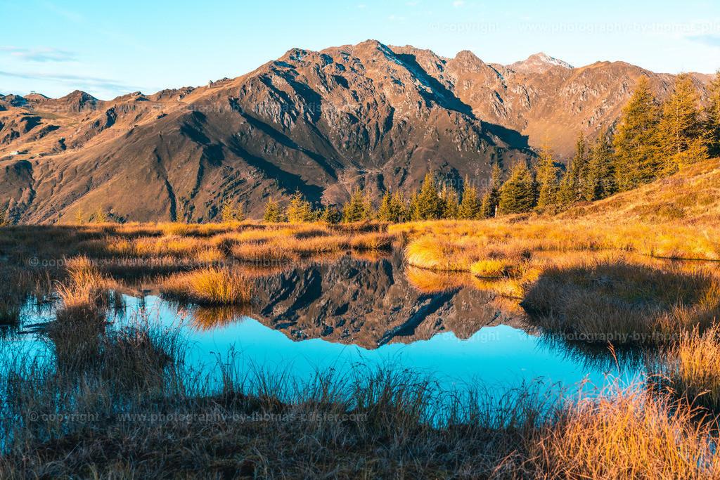 Herbst Schwendberg Tuxer Alpen