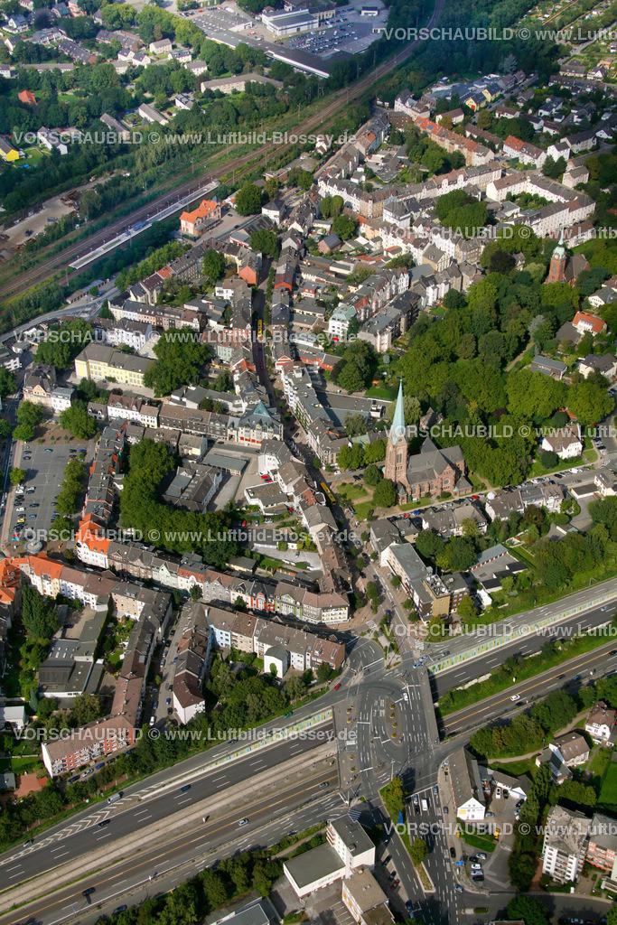 ES10094187 | Kray, Krayer Strasse, Luftbild,  Essen, Ruhrgebiet, Nordrhein-Westfalen, Germany, Europa, Foto: hans@blossey.eu, 05.09.2010