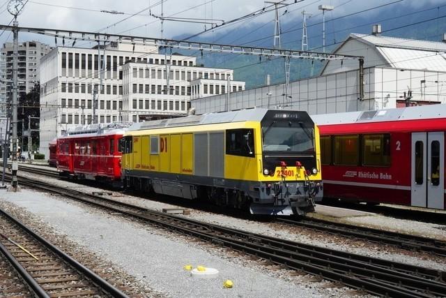 BDe 4/4 491    Der BDe 4/4 491 von 1958  wird in das Bahnmuseum nach Bergün überführt.