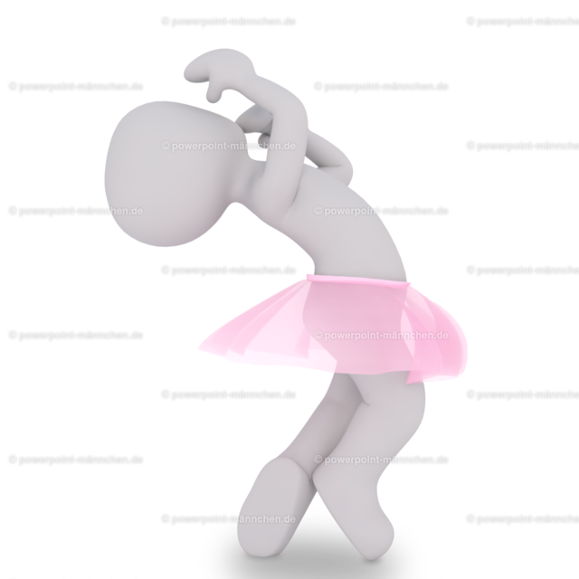 ballerina dancing with pink skirt | Quelle: https://3dman.eu   Jetzt 250 Bilder kostenlos sichern