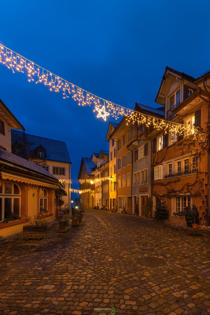 Advent | Aventstimmung im schmucken historischen Städtchen Bremgarten im Kanton Aargau, Schweiz