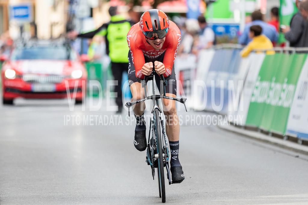 81st Skoda-Tour de Luxembourg 2021   81st Skoda-Tour de Luxembourg 2021, Stage 4 ITT Dudelange - Dudelange; Dudelange, 17.09.2021: GESBERT Élie (Team Arkéa Samsic, 163)