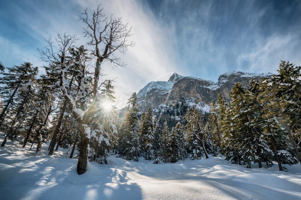Winter am Ahornboden | Wunderbarer Winter am Ahornboden im Karwendel