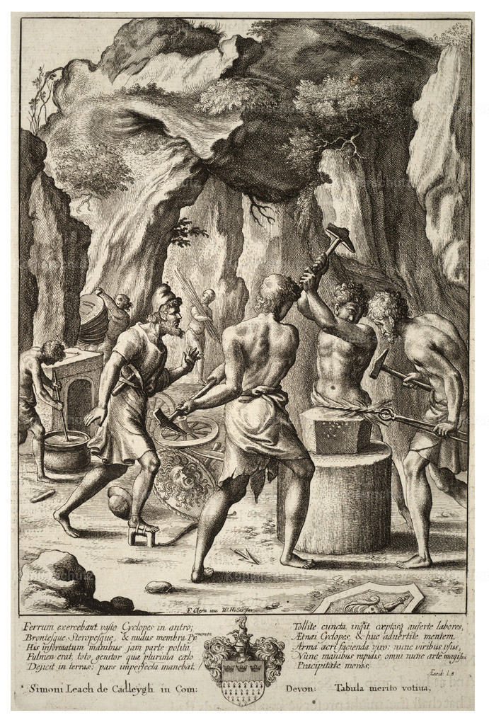 Wenceslas_Hollar_-_Vulcan_forging_weapons_of_Aeneas
