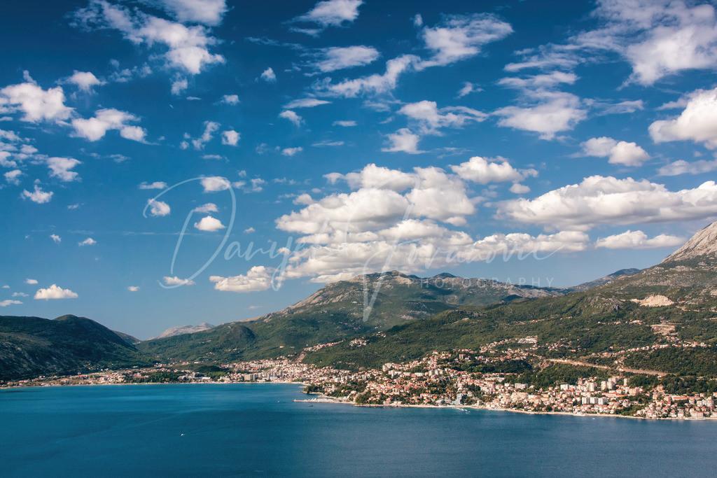 Herceg Novi | Blick auf Herceg Novi in der Bucht von Kotor