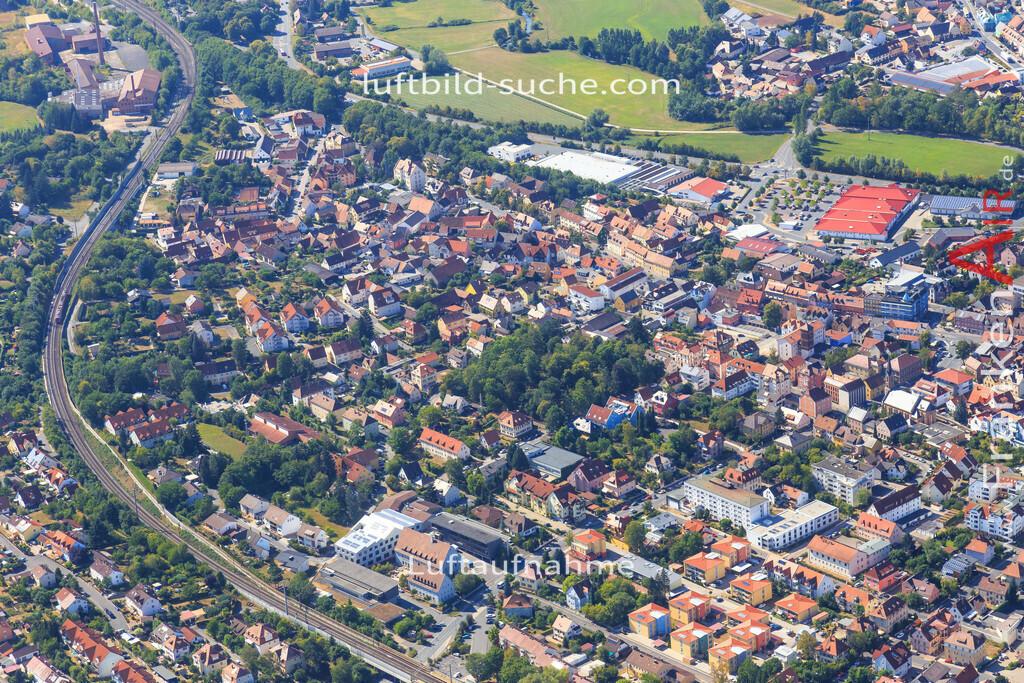 unterstrahlbach-neustadt-an-der-aisch-2015-95 | Luftbild von Unterstrahlbach Neustadt-an-der-aisch - Luftaufnahme wurde 2015 von https://frankenair.de mittels Flugzeug (keine Drohne) erstellt - die Geschenkidee
