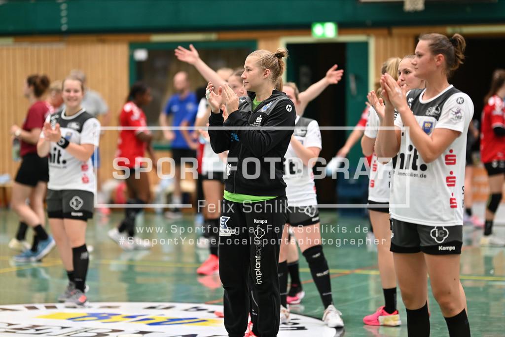 FZ6_0816 | ; Handball I Testspiel I Buxtehuder SV - TSV Bayer 04 Leverkusen am 01.08.2020 in Buxtehude  (Halle Nord), Deutschland