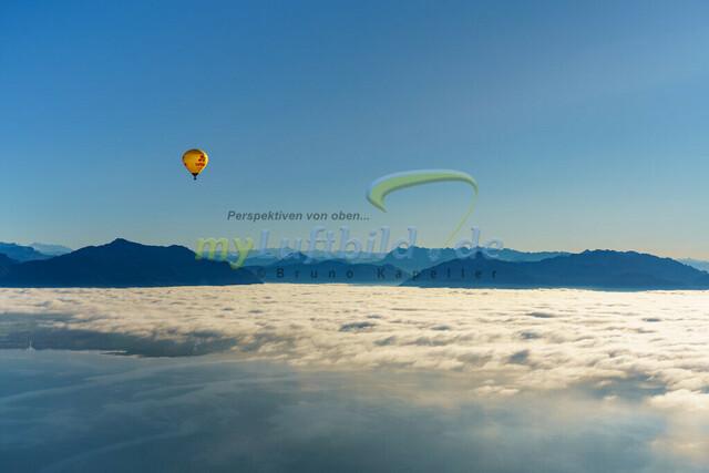 luftbild-chiemsee-balloon-bruno-kapeller-02 | Luftaufnahme Balloonfahrt über dem Chiemsee