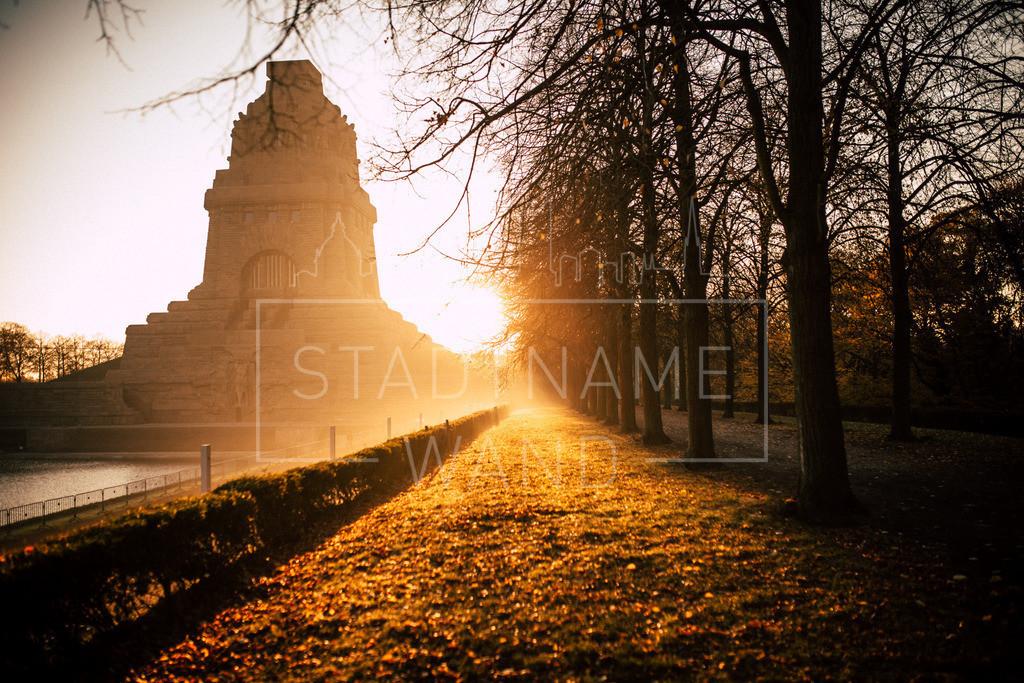 Völki Herbst Morgensonne