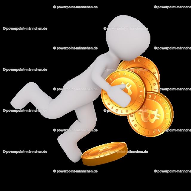 man stumbled with bitcoin | Quelle: https://3dman.eu   Jetzt 250 Bilder kostenlos sichern
