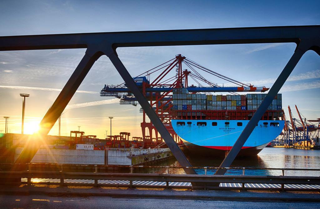 Eurogate | Estelle Maersk am Eurogate