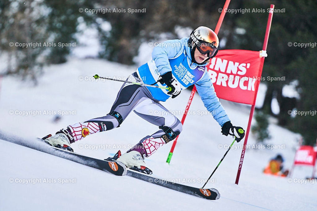 ALS5494_WWMG_GS-II_C | (C) FotoLois.com, Alois Spandl, WinterWorldMastersGames 2020 Innsbruck, Giant Slalom-II Gruppe C Damen, Patscherkofel Olympiaabfahrt, Mi 15. Jänner 2020.
