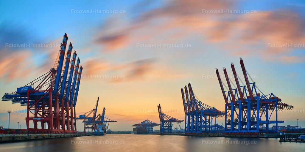 11995451 - Sonnenuntergang am Waltershofer Hafen