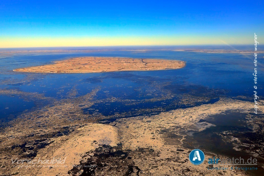 Winter Luftbilder, Nordsee, Nordfriesland, Pellworm | Winter Luftbilder, Nordsee, Nordfriesland, Pellworm