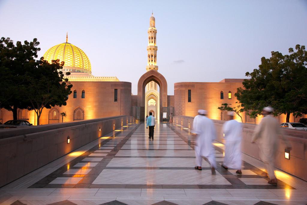 JT-090123-250 | Oman, die Neue Moschee von Muskat,