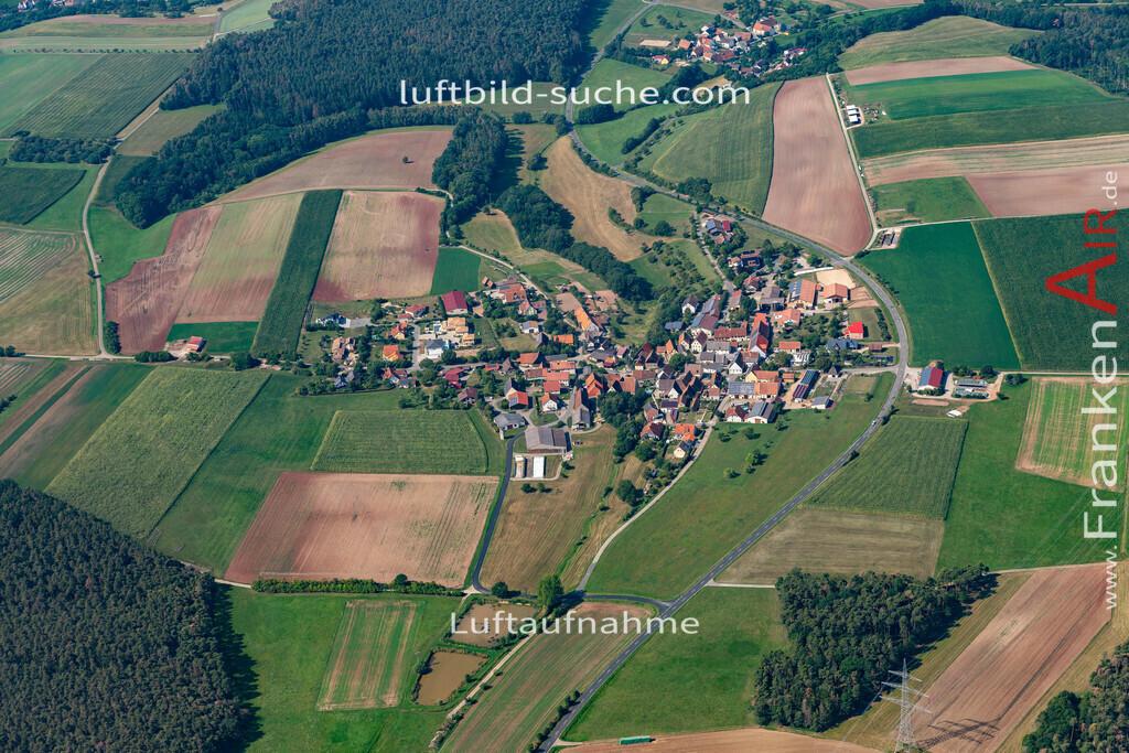 oberrossbach-19-581 | aktuelles Luftbild von Oberrossbach   - Luftaufnahme wurde 2019 von https://frankenair.de mittels Flugzeug (keine Drohne) erstellt.