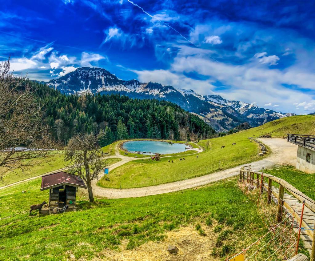 Traumpanorama  | Bergsee in der Nähe von Oberaudorf