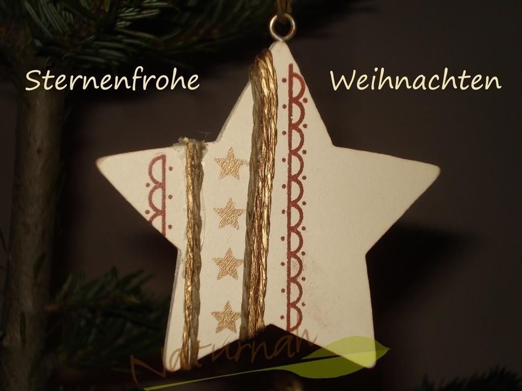 Sternenfrohe Weihnachten | Weihnachtswünsche mit Stern