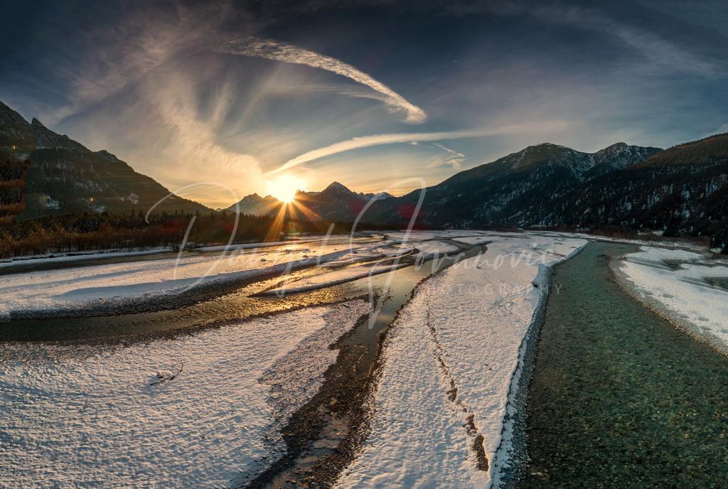 Lechtal | Sonnenuntergang im Lechtal