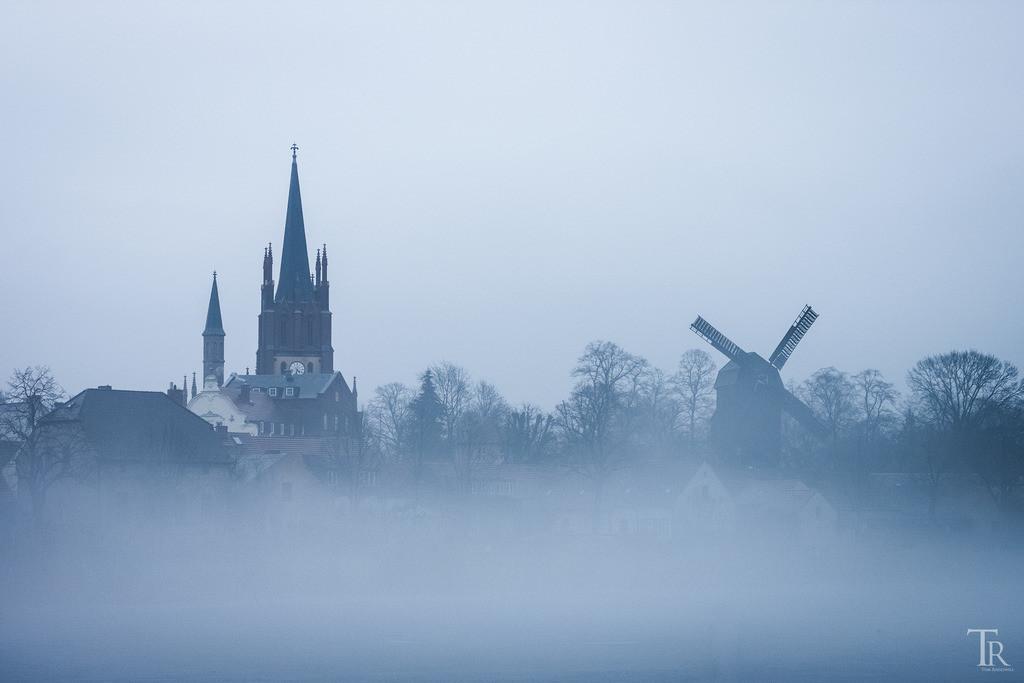 Nebliges Werder (Havel)