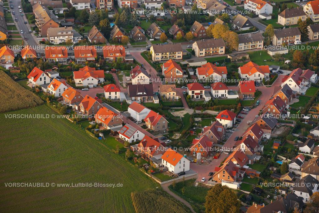 RE11101878 | Suderwich Baugebiet in Dreiecksform, Dreieck,  Recklinghausen, Ruhrgebiet, Nordrhein-Westfalen, Deutschland, Europa