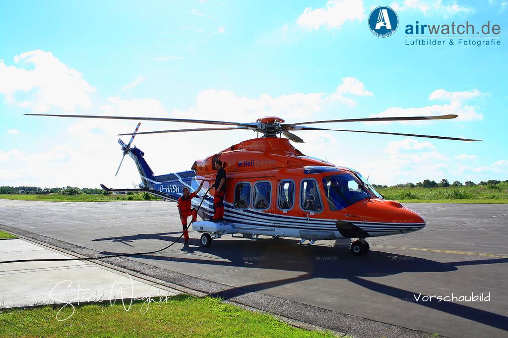 Flughafen Husum, HeliService, Leonardo AW139, D-HHSH | Flughafen Husum, HeliService, Leonardo AW139 • 4272 x 2848 pix