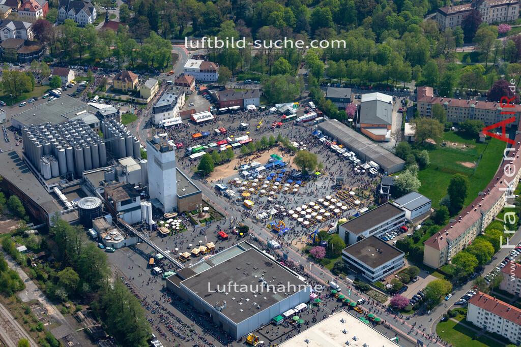 kulmbach-18-64 | aktuelles Luftbild von  Kulmbach - Luftaufnahme wurde 2018 von https://frankenair.de mittels Flugzeug (keine Drohne) erstellt.