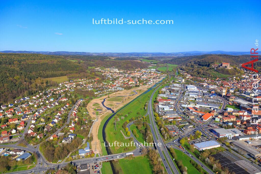 kulmbach-2016-3201 | Luftbild von  Kulmbach - Luftaufnahme wurde 2016 von https://frankenair.de mittels Flugzeug (keine Drohne) erstellt - die Geschenkidee