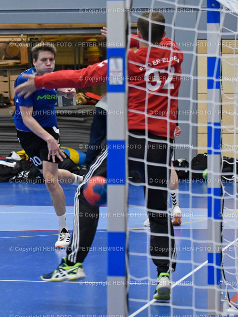 Darmstadt Handball Bezirksoberliga SGA Darmstadt - Erfelden 20190921 - copyright by HEN-FOTO | Darmstadt Handball Bezirksoberliga SGA Darmstadt - Erfelden 20190921 li 20 Lucas Kunz (SGA) re TW 92 Jan Sensfelder (E) - copyright by HEN-FOTO Foto: Peter Henrich