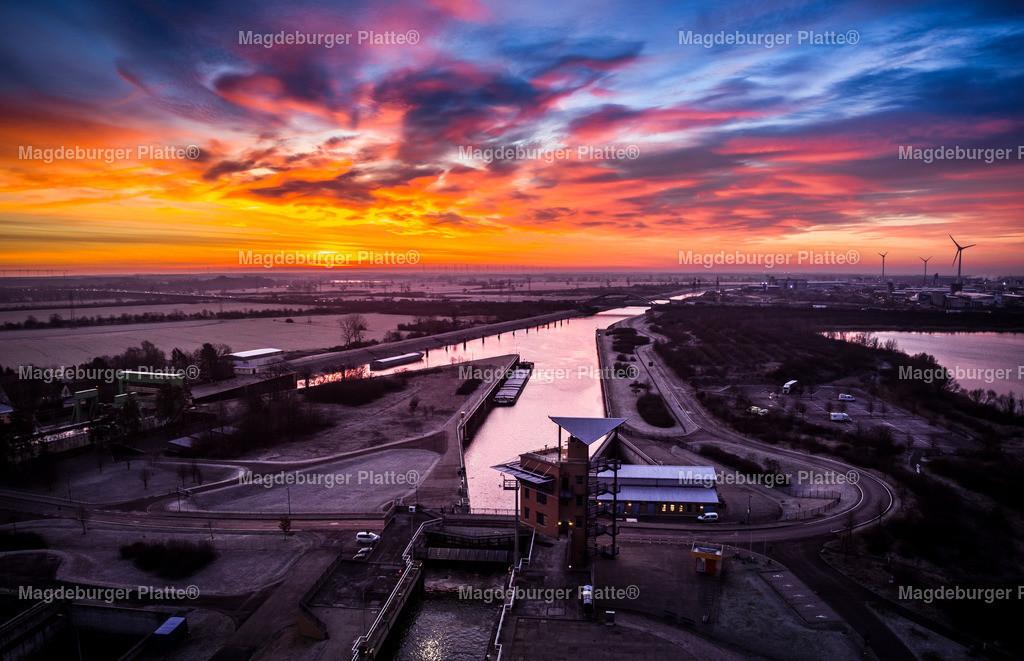 Schiffshebewerk Sonnenaufgang-0079