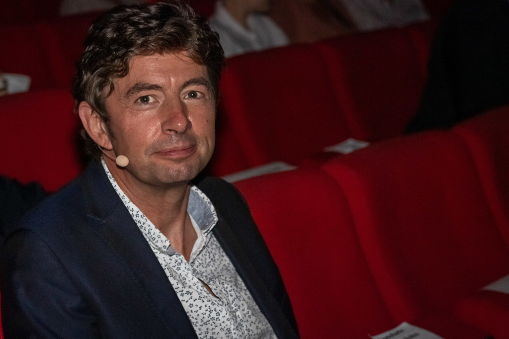 Verleihung Urania - Medaillie | Virologe Christian Drosten