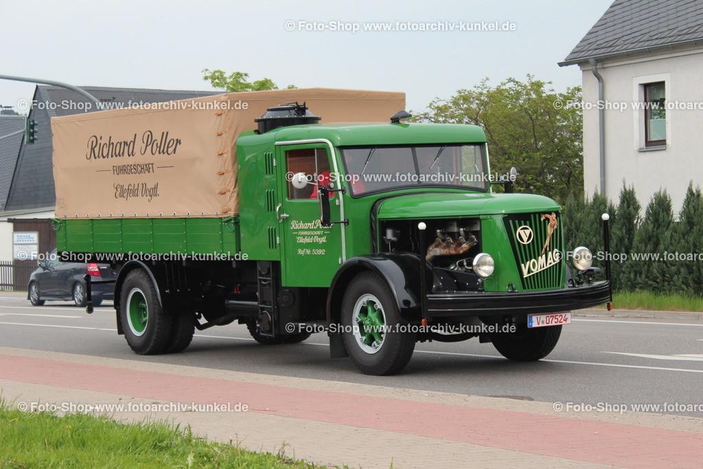 VOMAG Typ 4,5 LHG 448 Pritschenwagen (Richard Poller), 1943   VOMAG Typ 4,5 LHG 448 Pritschenwagen, Farbe: Grün, Baujahr 1943, Richard Poller, Motor Typ 4GR 1080 HG, Hubraum 11000 cm³, Leistung 100 PS, Eigengewicht 6300 kg,  Nutzlast 4500 kg, das Fahrzeug wurde aus Norwegen geholt, nachdem es während des 2. Weltkrieges dorthin gelangte, Fahrgestell-Nr. 11002, Hersteller: Vogtländische Maschinenfabrik AG (VOMAG), Deutschland