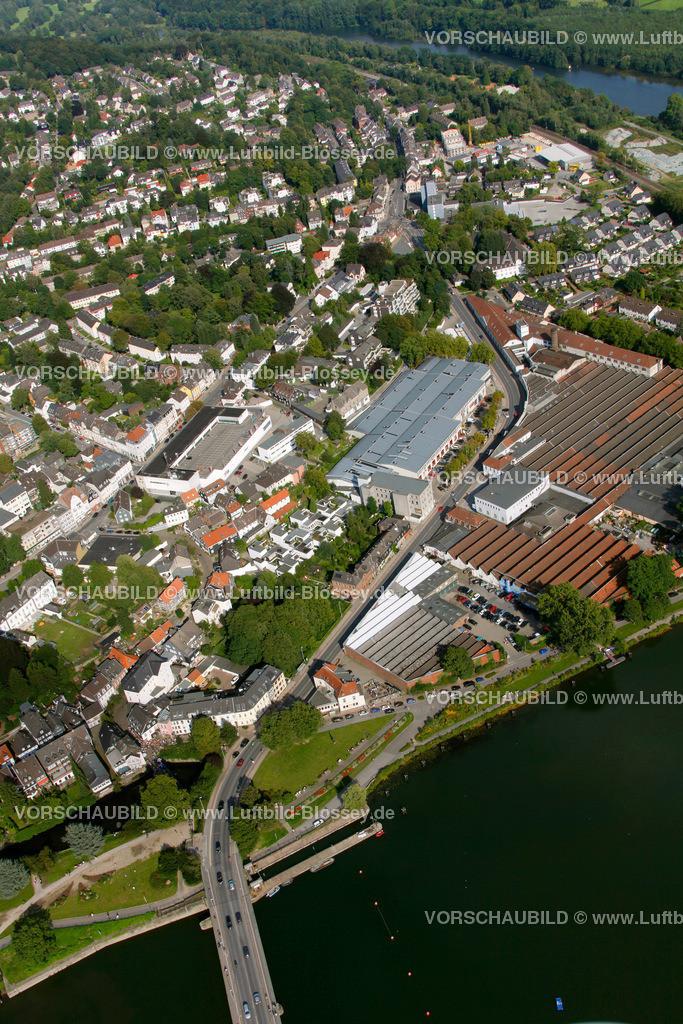 KT10094268 | Ringstrasse, Kettwig, Ruhr, Luftbild,  Essen, Ruhrgebiet, Nordrhein-Westfalen, Germany, Europa, Foto: hans@blossey.eu, 05.09.2010