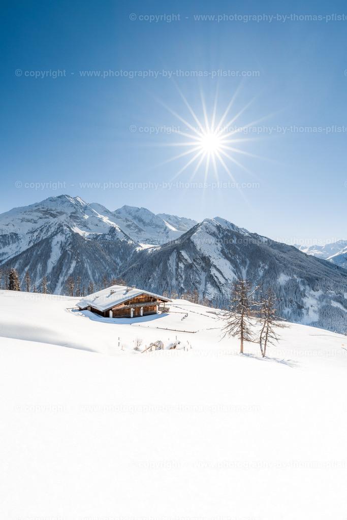 Schrofenalm im Winterkleid-1