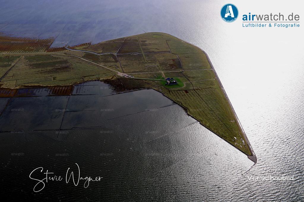 Hamburger Hallig - oder einfach mal vor Anker gehen... | Nordsee, Hamburger Hallig, Luftbild, Luftaufnahme, aerophoto, Luftbildfotografie, Luftbilder  • max. 6240 x 4160 pix