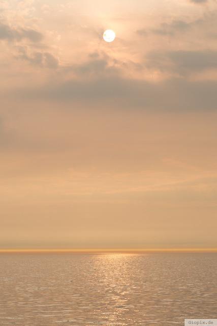 Harmonischer Sonnenuntergang Renesse | Harmonische Farben zum Sonnenuntergang bei Renesse
